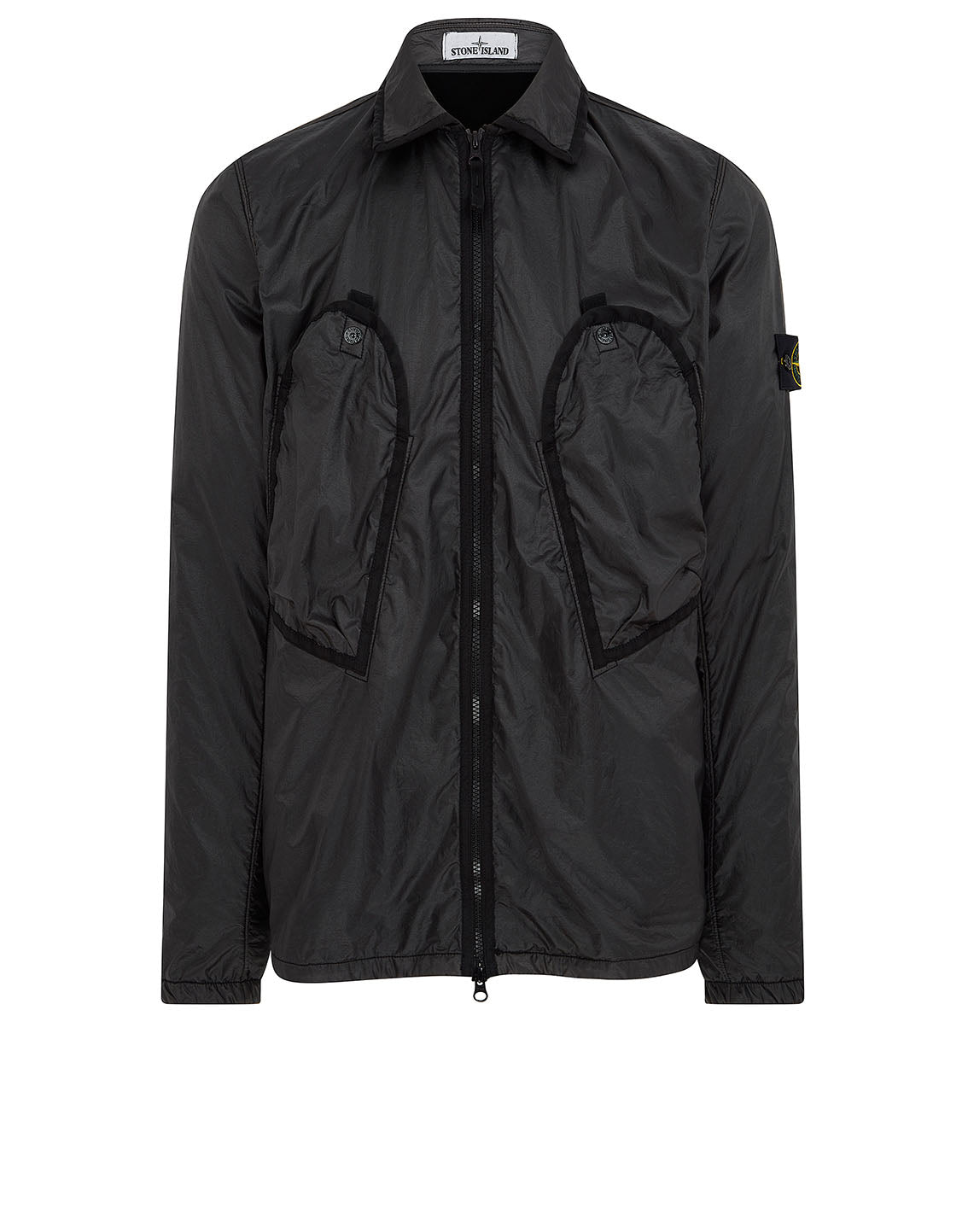11435 Lamy Flock Jacket in Black