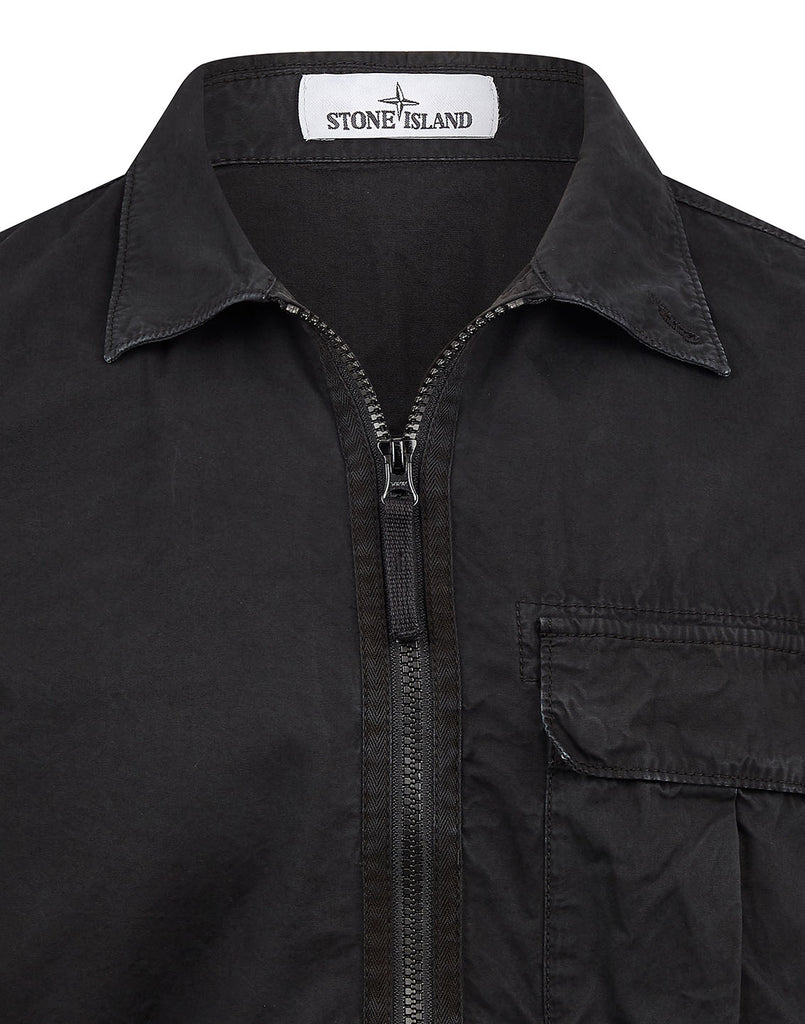115WN Overshirt in Black
