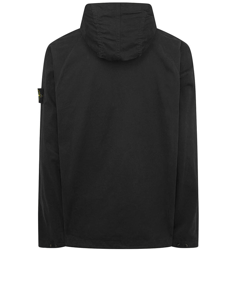 10510 Hooded overshirt in Black