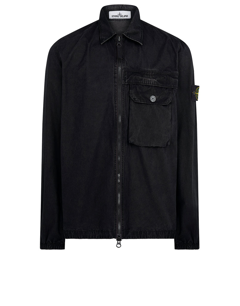 107Wn T.Co+Old Overshirt in Black