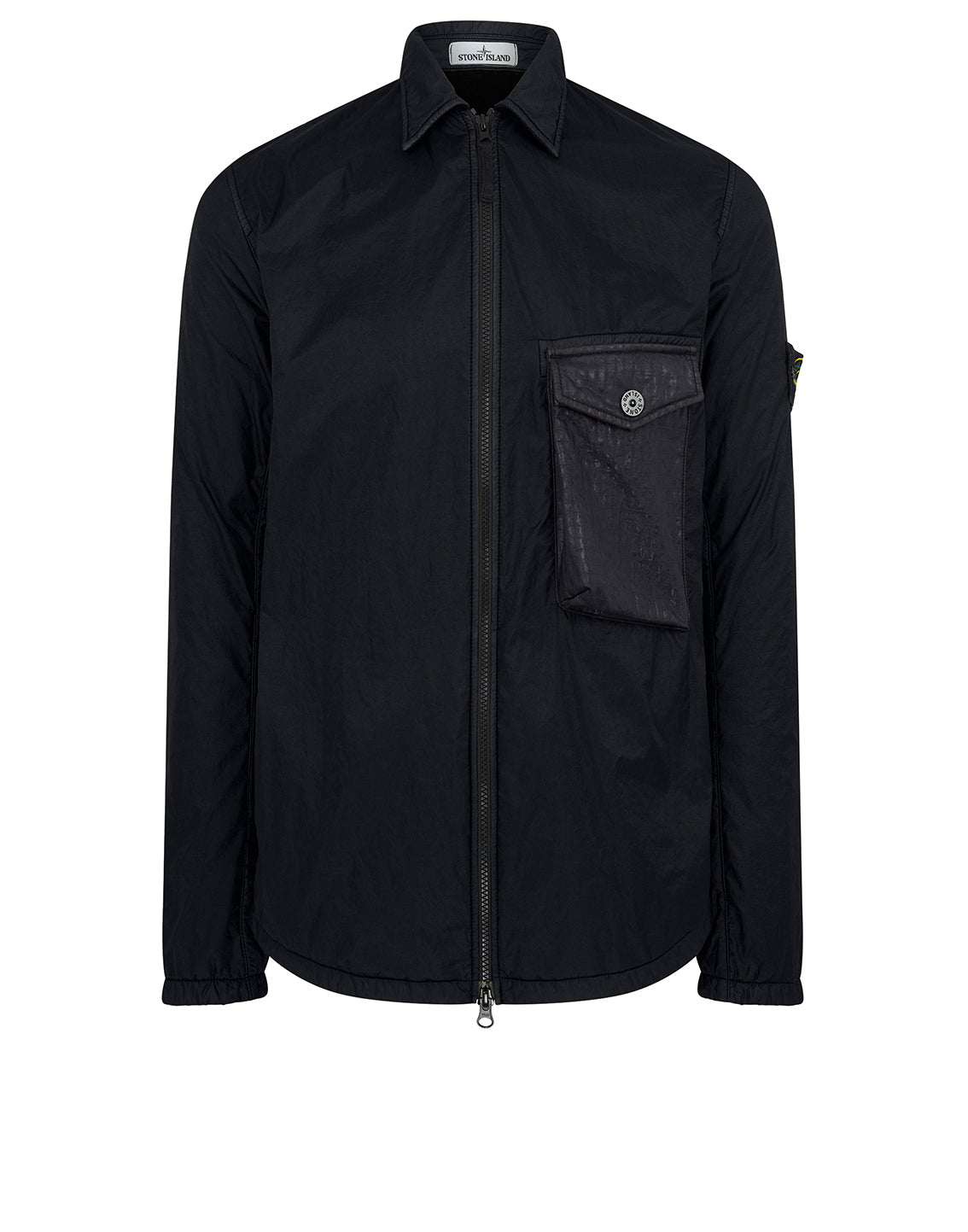 11435 LAMY FLOCK: Overshirt in Black