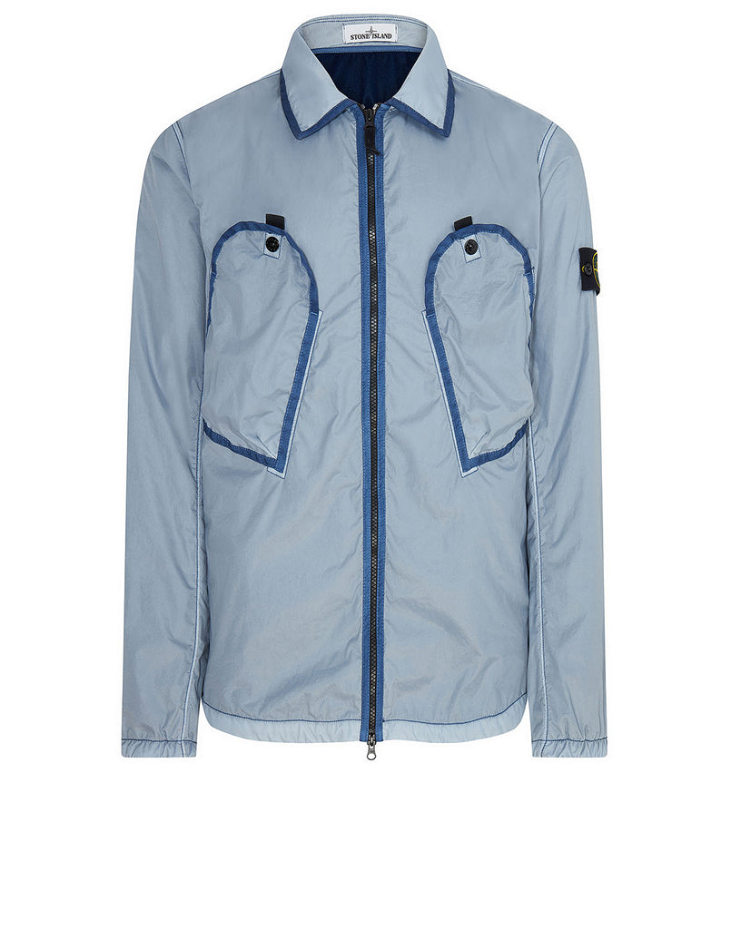 11435 Lamy Flock Jacket in Dark Blue