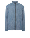 12407 Long Sleeve Shirt in Chambray