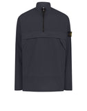 10802 Cotton Ripstop Overshirt in Navy
