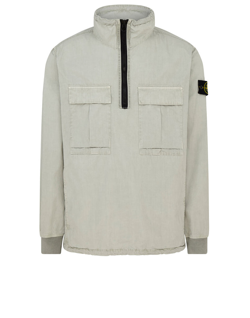 117WN 'OLD' DYE TREATMENT Overshirt in Dust