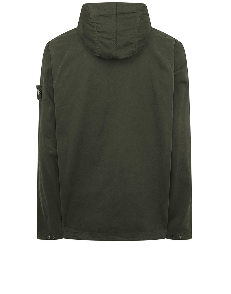 10510 Hooded overshirt in Dark Forest