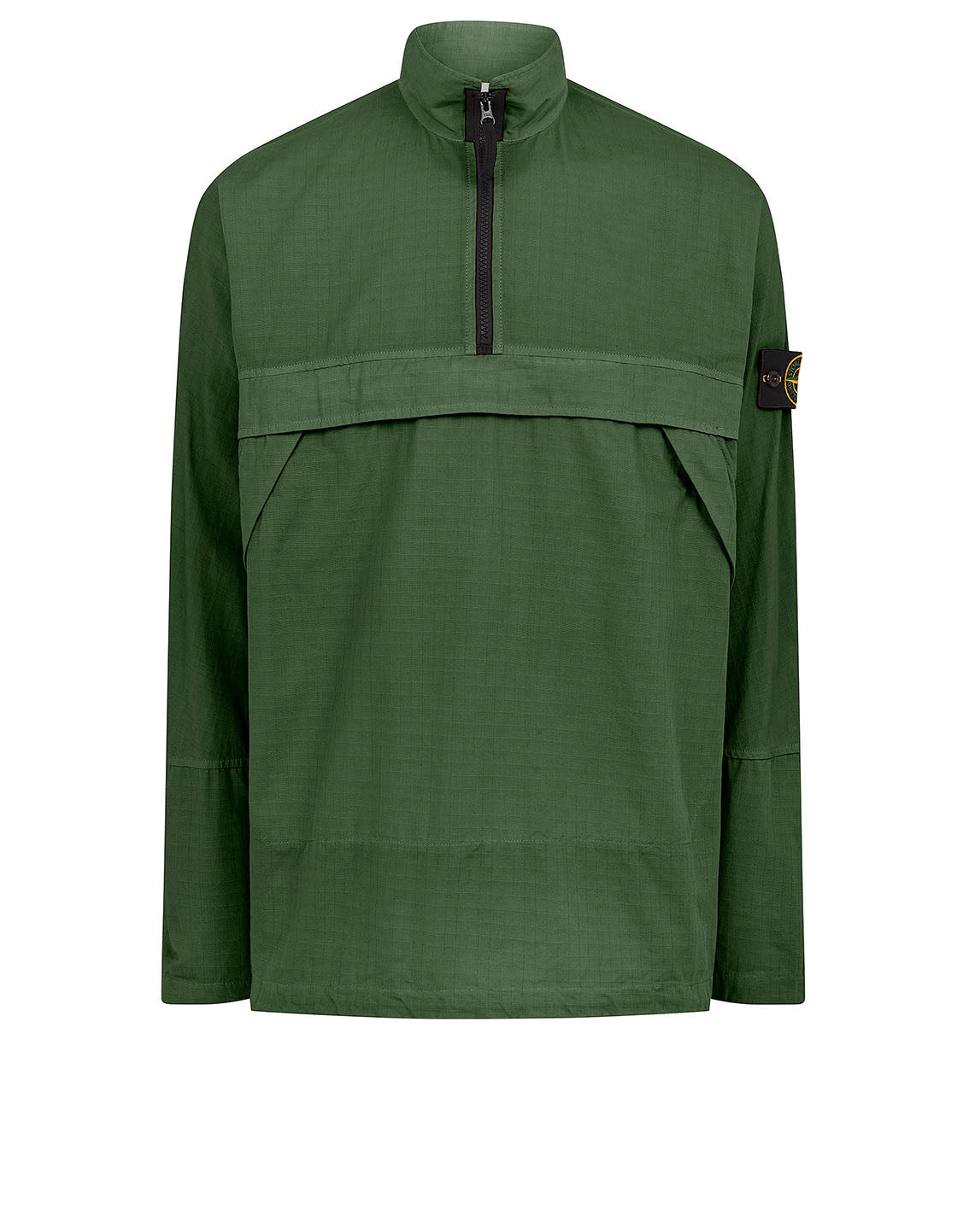 10802 Cotton Ripstop Overshirt in Dark Forest