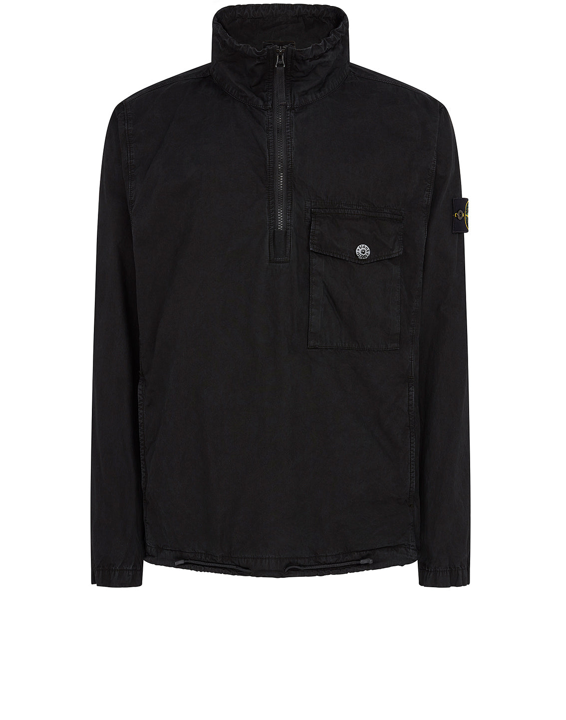 113WN T.CO+OLD Overshirt in Black