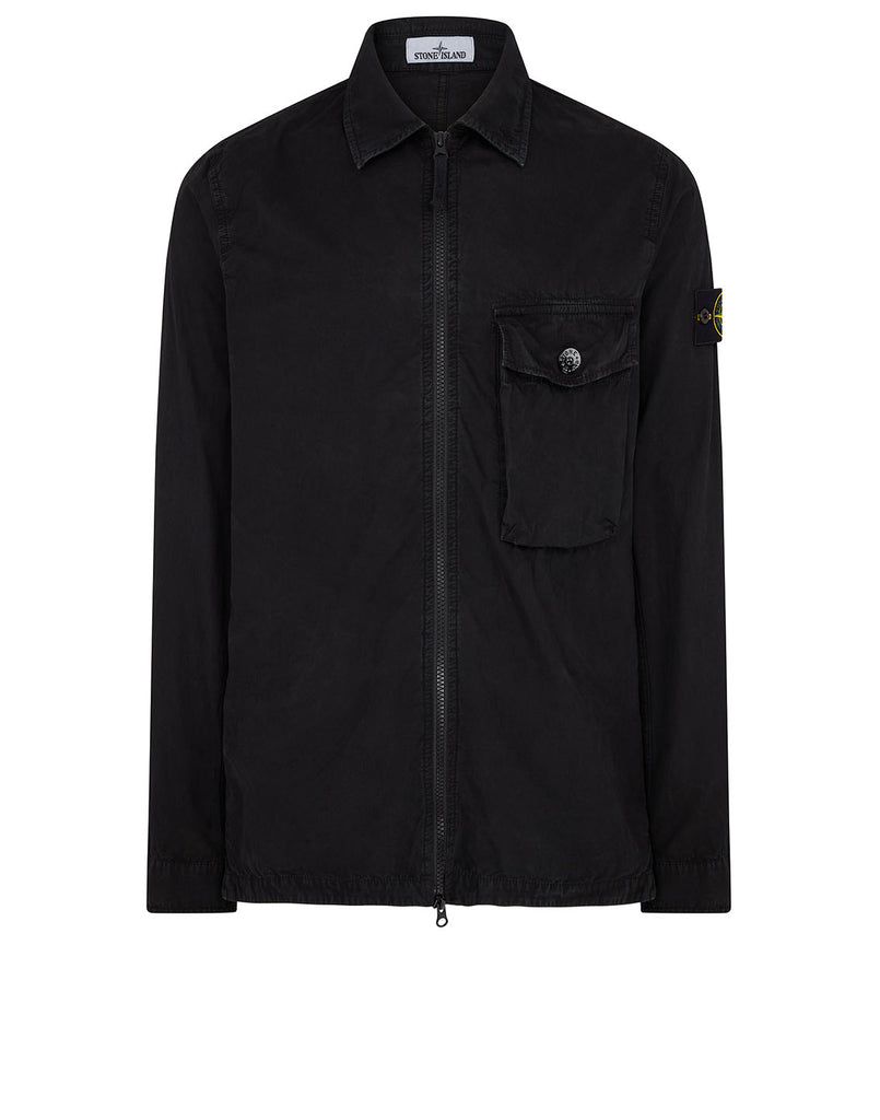 114WN T.CO-OLD Overshirt in Black