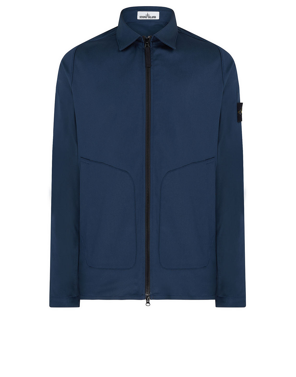 11905 Overshirt in Blue Marine