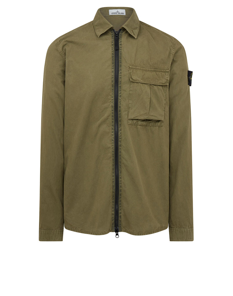 115WN Overshirt in Olive