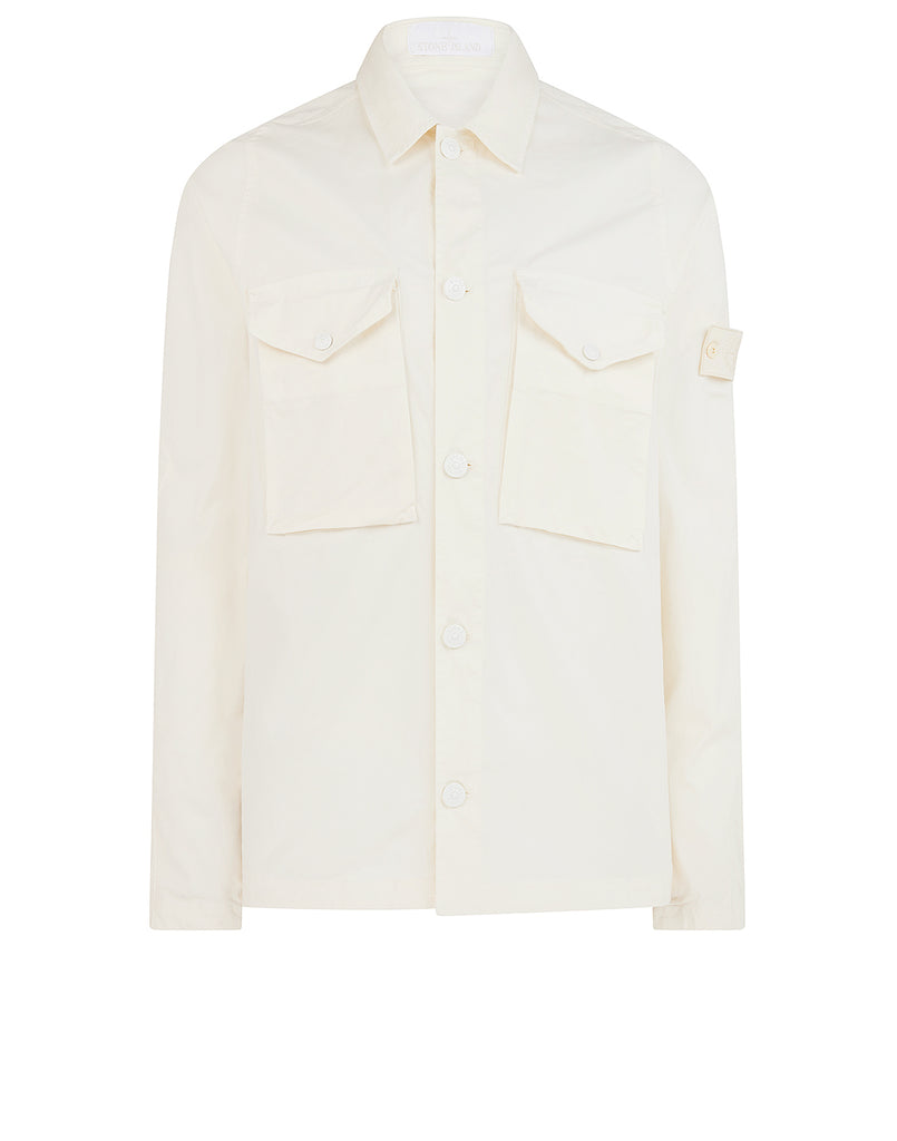 123F2 GHOST PIECE Overshirt in Natural