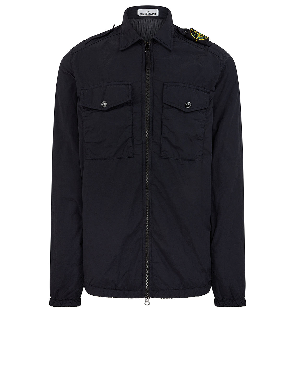 11303 NASLAN LIGHT: Overshirt in Navy