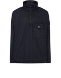113WN T.CO+OLD Overshirt in Navy Blue