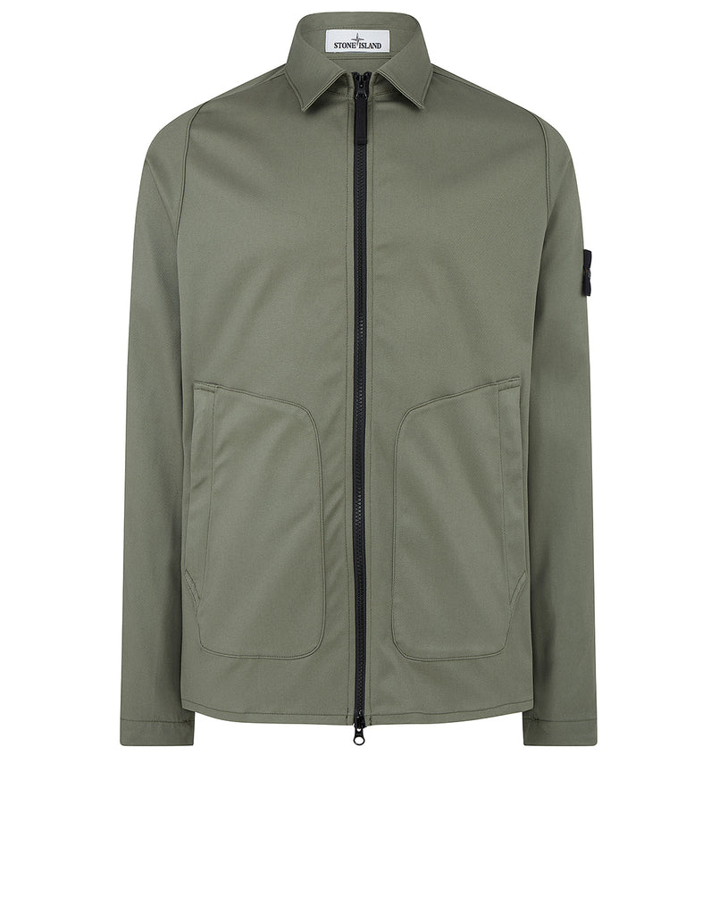 11905 Overshirt in Olive