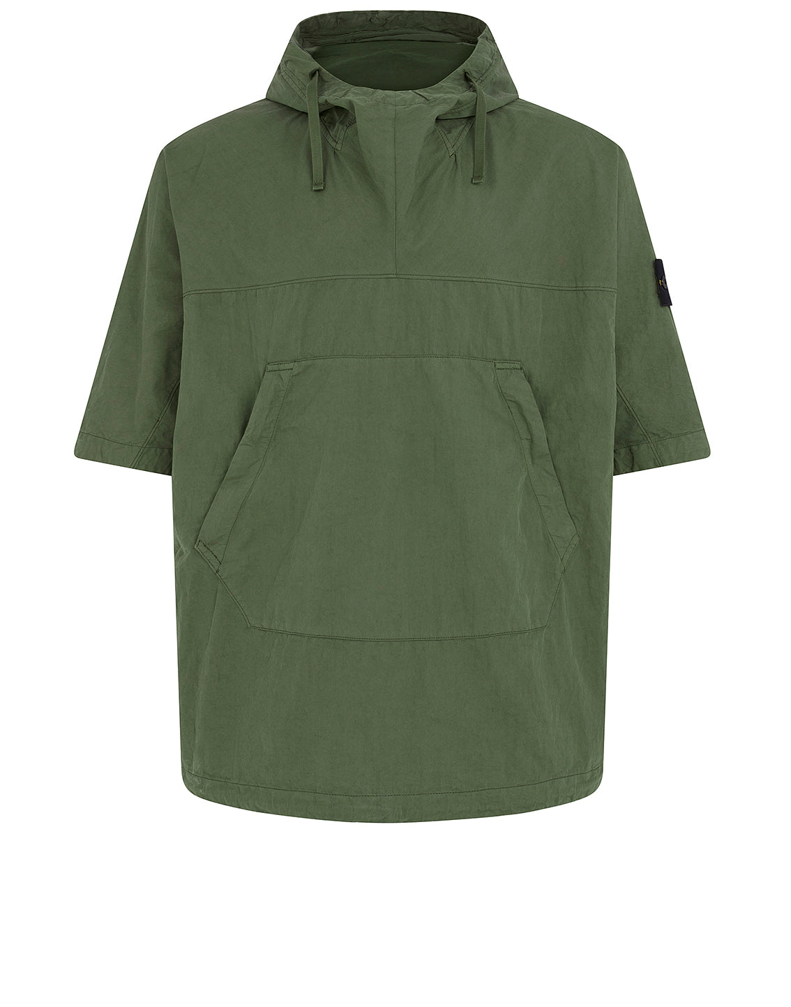 12208 Hooded Overshirt in Olive
