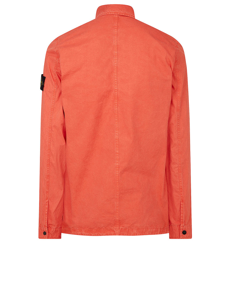 114WN T.CO-OLD Overshirt in Orange Red