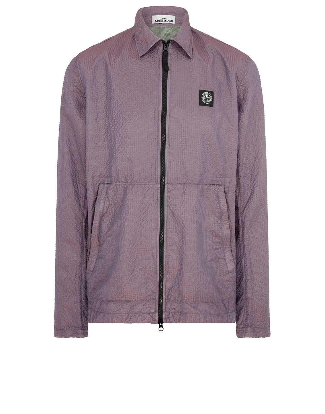 11534 POLY-COLOUR FRAME-TC: Overshirt in Sage