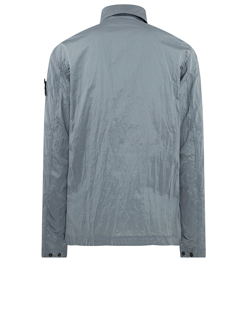 11117 NYLON METAL RIPSTOP Overshirt in Lavender