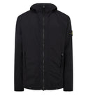 43831 SKIN TOUCH NYLON-TC_PACKABLE Jacket in Black