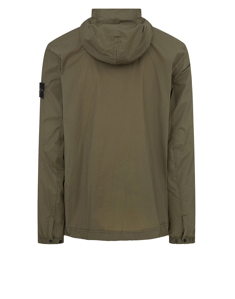 43831 SKIN TOUCH NYLON-TC_PACKABLE Jacket in Olive