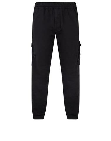 310F2 GHOST PIECE Trousers in Black