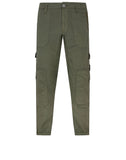 32029 SI PA/PL SEERSUCKER-TC Pants in Olive