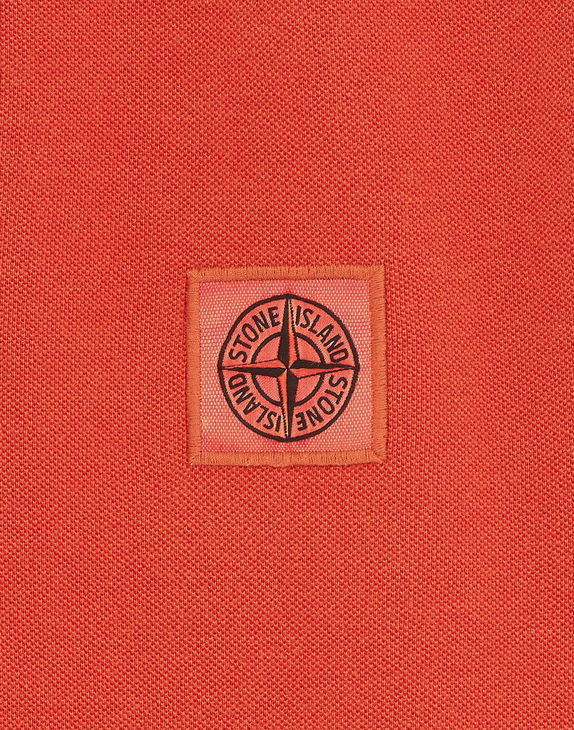 22S67 Polo Shirt in Orange