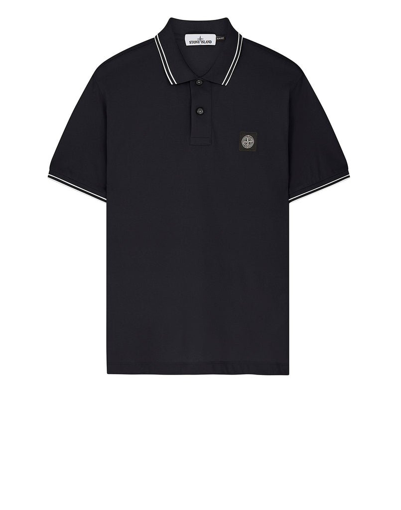22S18 Short Sleeve Polo Shirt in Charcoal