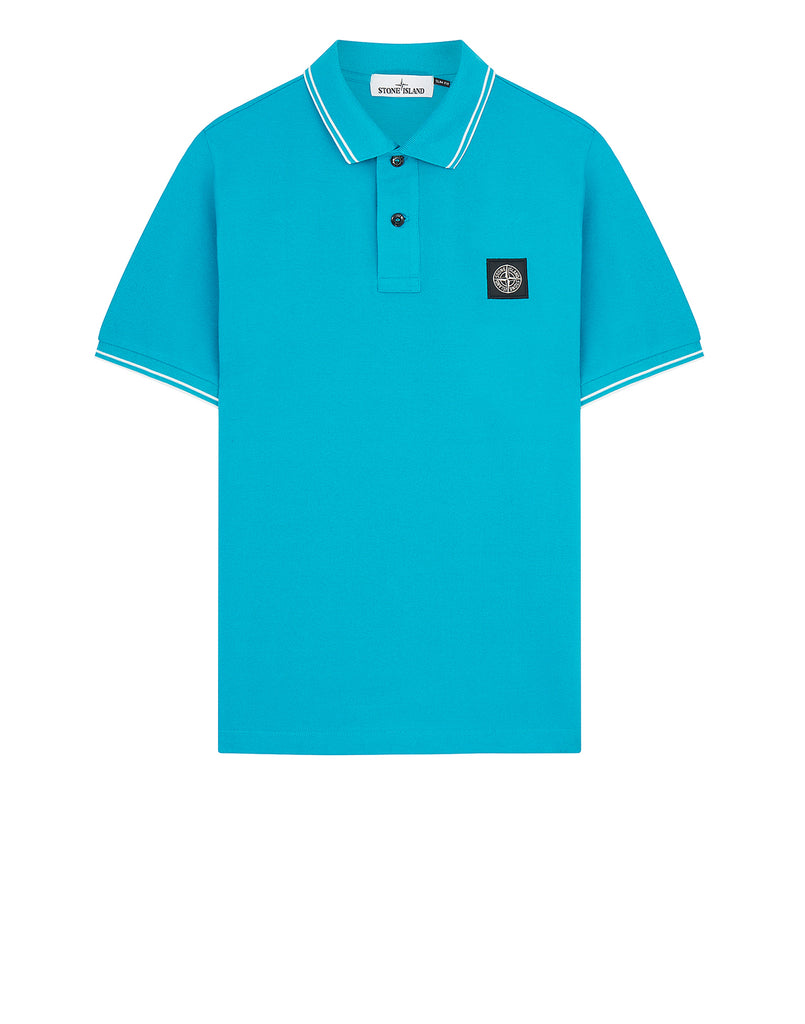 22S18 Polo Shirt in Turquoise