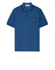 22S18 Short Sleeve Polo Shirt in Periwinkle