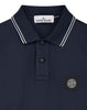 2Ss18 Long Sleeve Polo Shirt in Navy