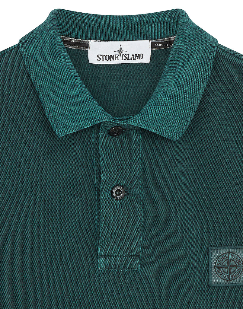 22S67 Polo Shirt in Petrol