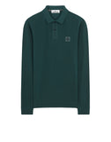 2SS67 Pigment Dye Treatment Polo Shirt in Petrol