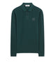 2SS18 Long Sleeve Polo Shirt in Petrol