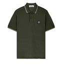 22S18 Short Sleeve Polo Shirt in Dark Forest
