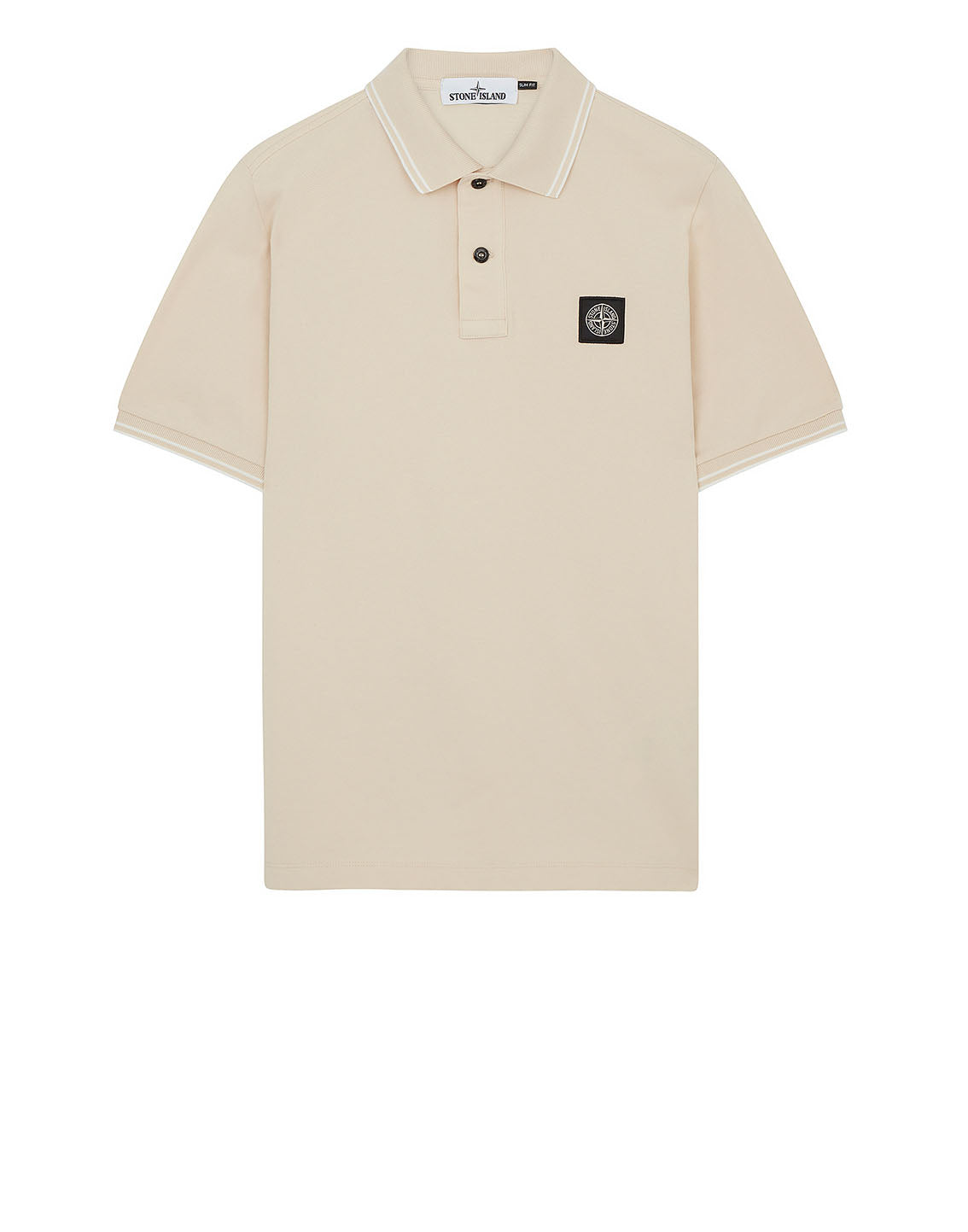 22S18 Polo Shirt in Beige