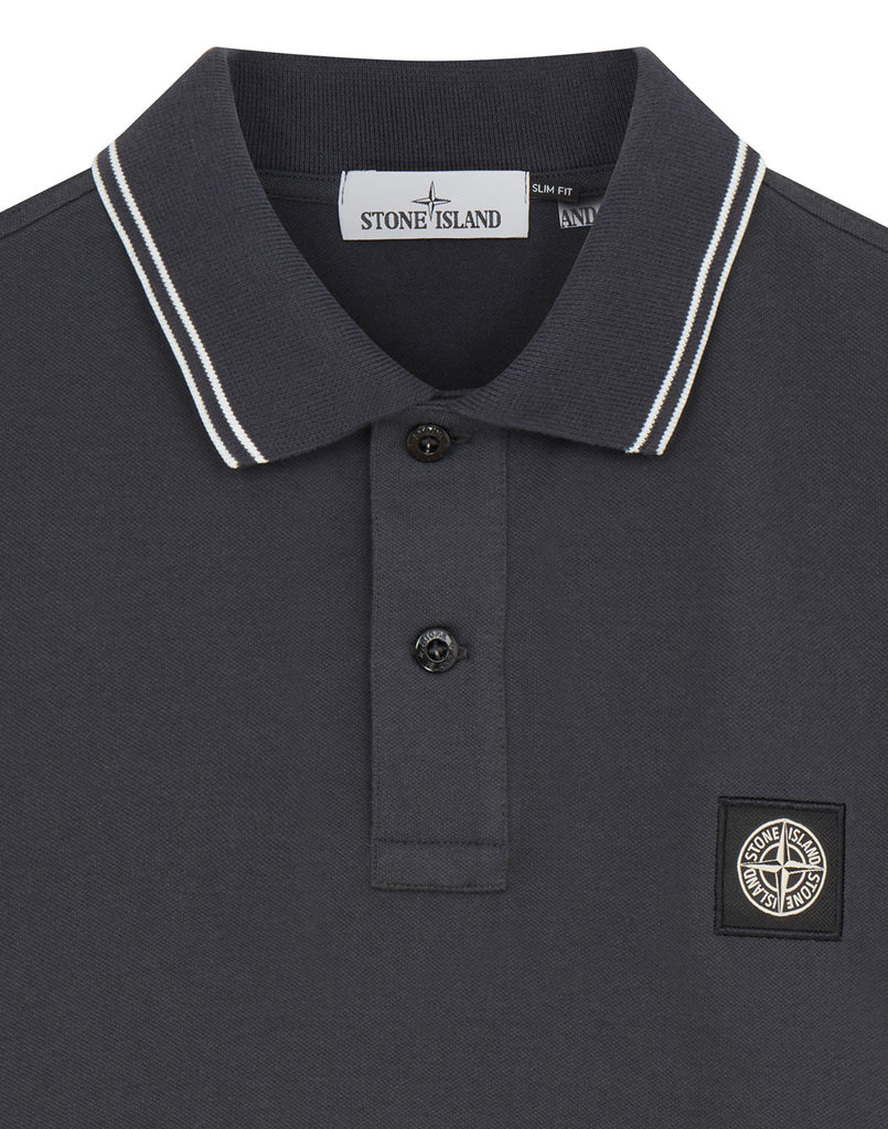 22S18 Polo Shirt in Dark Grey