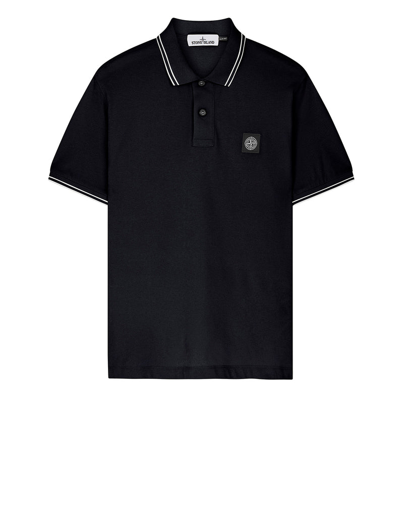 22S18 Short Sleeve Polo Shirt in Navy