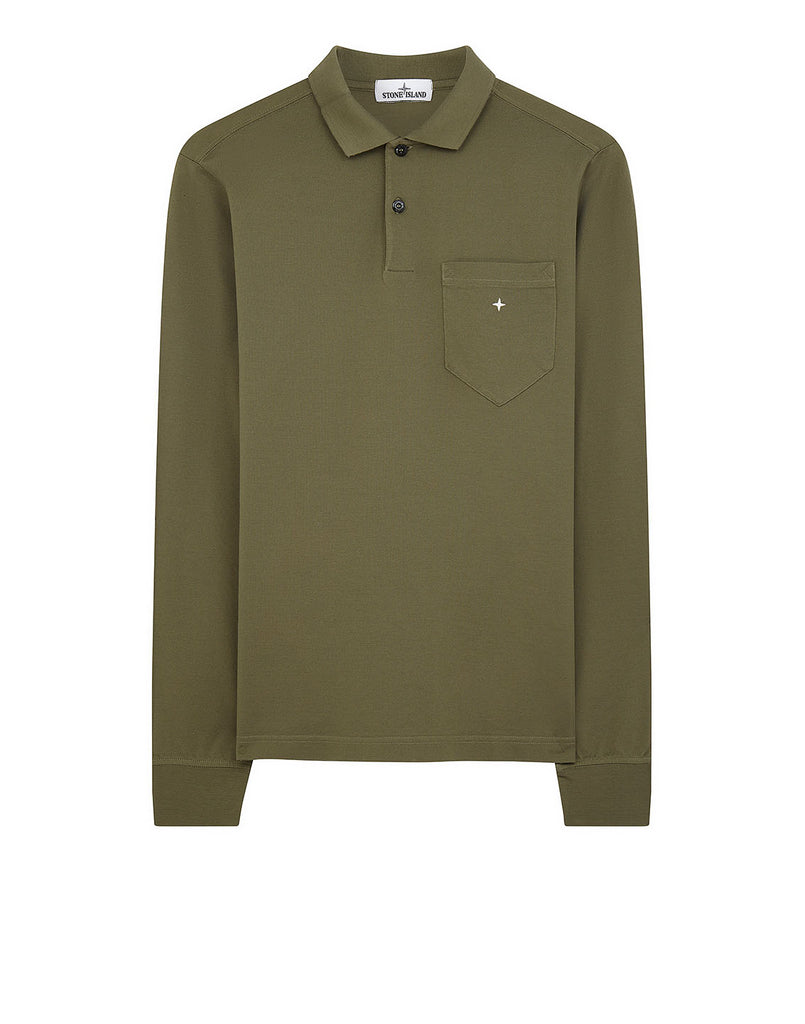 21112 Polo Shirt in Olive