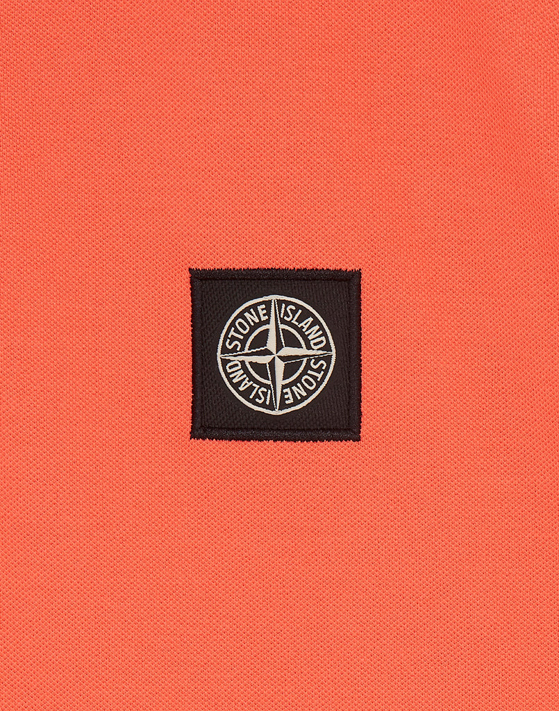 22S18 Polo Shirt in Orange Red