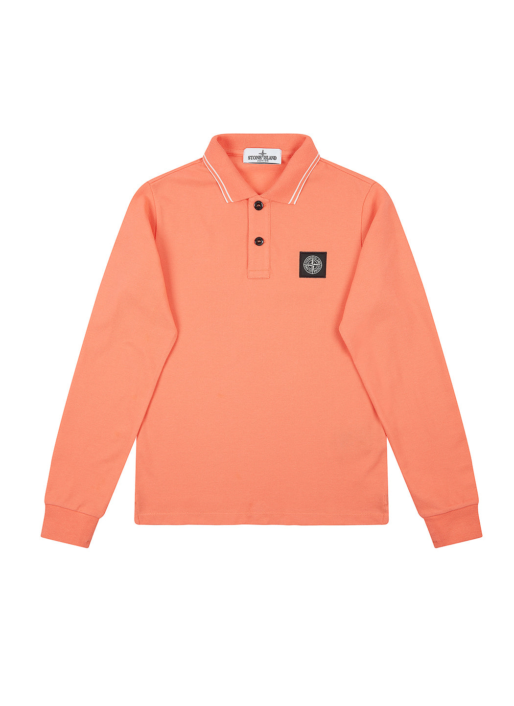 20748 Long Sleeve Polo Shirt in Lobster