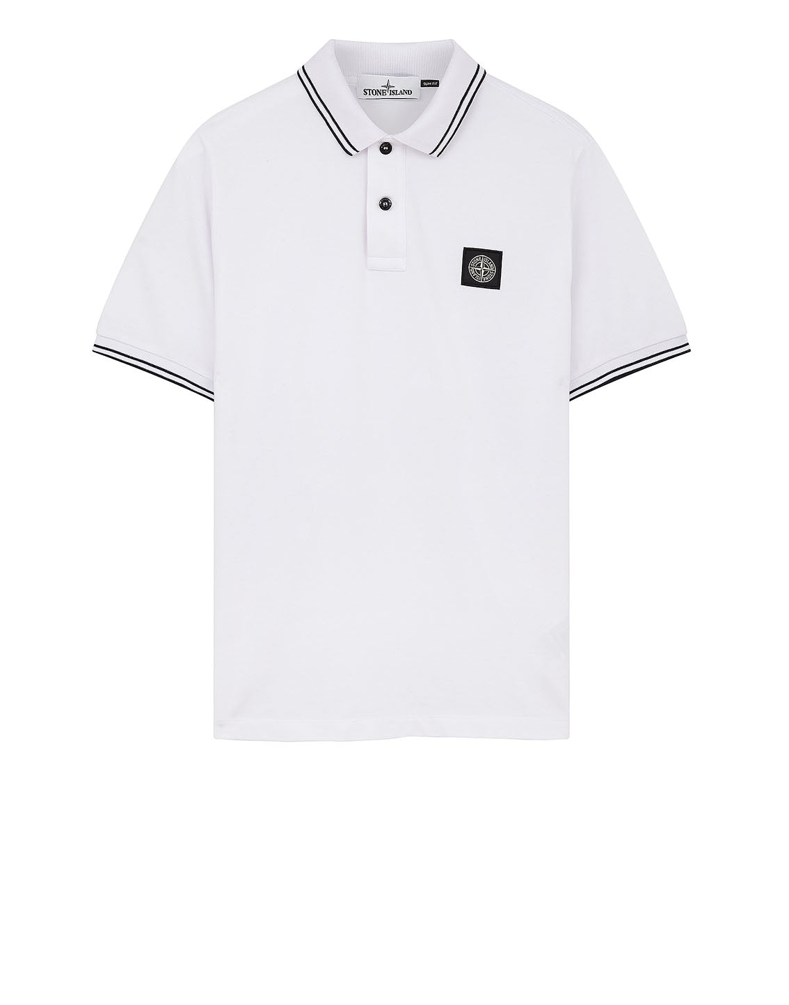 22S18 Polo Shirt in White