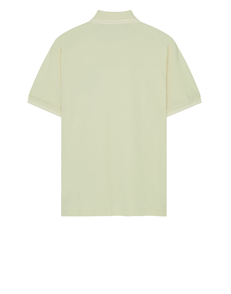 22S18 Short Sleeve Polo Shirt in Butter