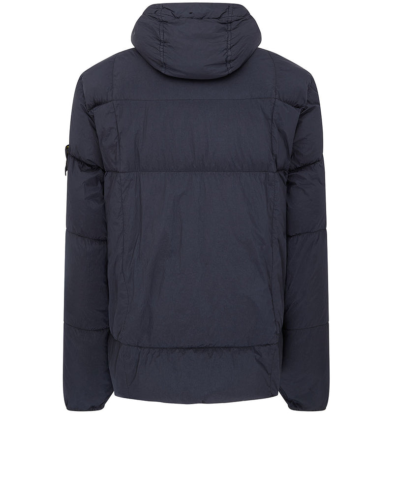 40223 Garment Dyed Crinkle Reps NY Down Jacket in Navy