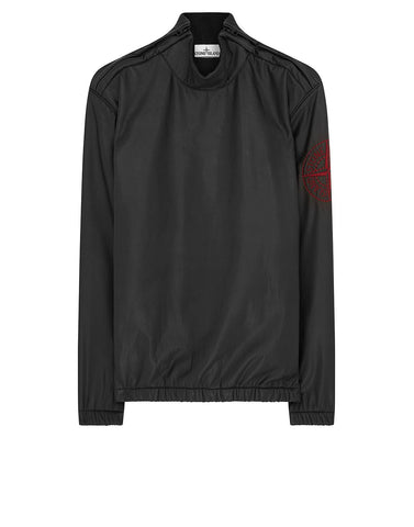 Q15Y2 PERMANENT WATER REPELLER GORE-TEX INFINIUM SOFT LINEN SHELL Jacket in Black