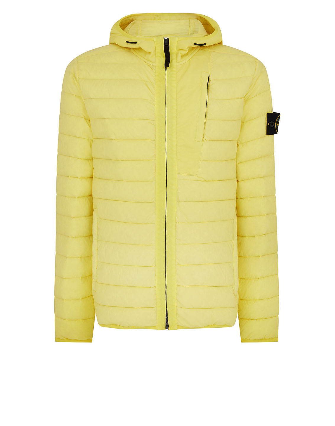 41225 LOOM WOVEN DOWN CHAMBERS STRETCH NYLON-TC Jacket in Lemon