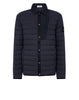 41125 LOOM WOVEN DOWN CHAMBERS STRETCH NYLON-TC Jacket in Navy Blue