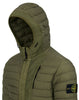 41225 LOOM WOVEN DOWN CHAMBERS STRETCH NYLON-TC Jacket in Olive