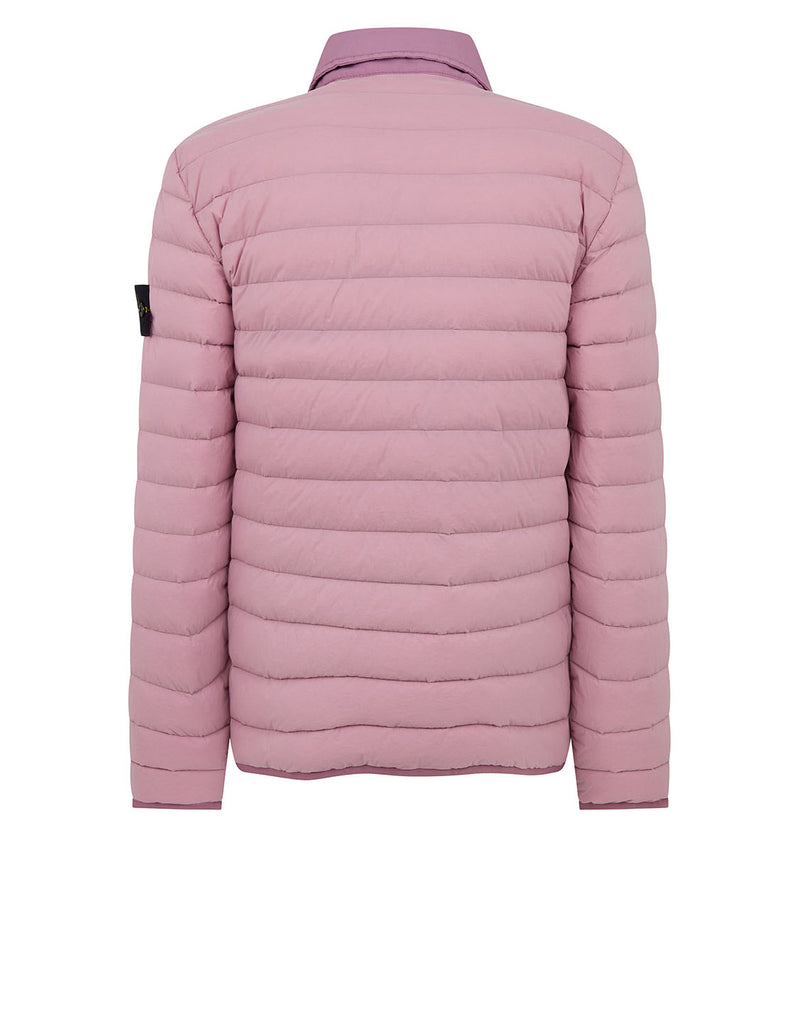 41125 LOOM WOVEN DOWN CHAMBERS STRETCH NYLON-TC Jacket in Rose Quartz